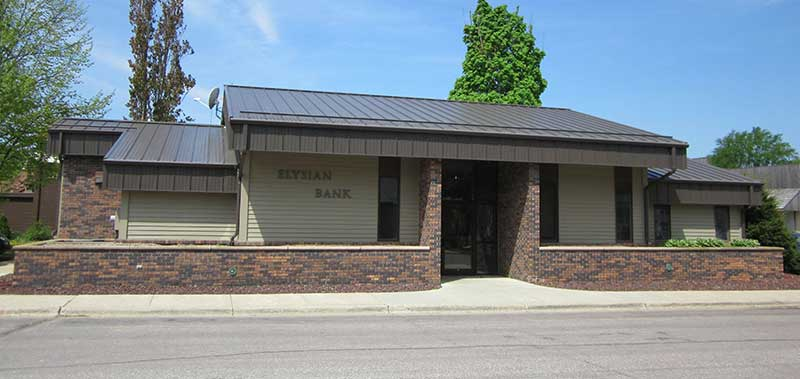 elysian bank front view of bank