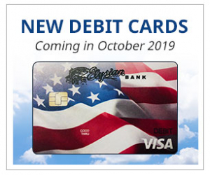 New Debit Cards Coming in October 2019