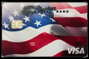 New Elysian Bank Visa Check Card